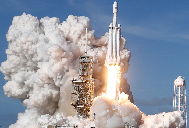 Пуск Falcon Heavy