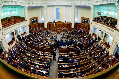 Украинский Совет нацбезопасности утвердил новые санкции против России