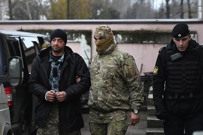 Один из задержанных украинских моряков