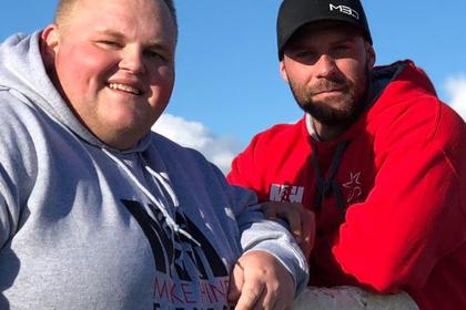 Дэррен Макклинток (слева) и Майк Хинд