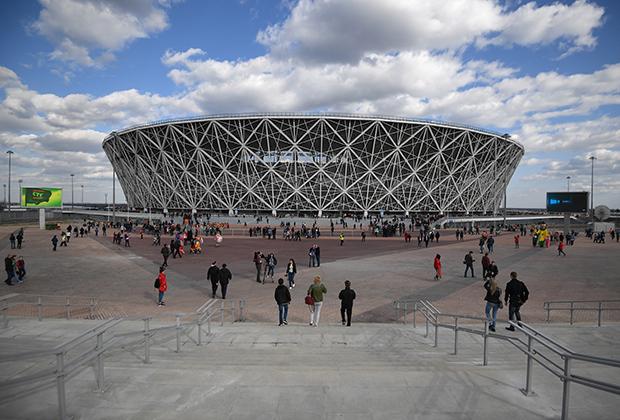 Стадион «Волгоград Арена», где прошли матчи чемпионата мира по футболу FIFA 2018