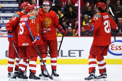 Российская молодежка разгромно победила в первом матче на ЧМ по хоккею
