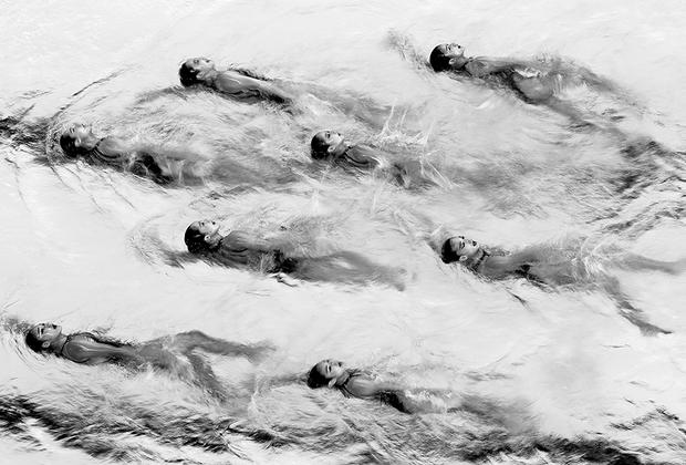 Сборная Кореи по синхронному плаванию выступает на Азиатских играх-2018. Турнир прошел в Индонезии. Корейцы заняли в общекомандном медальном зачете третье место, уступив лишь Китаю и Японии.