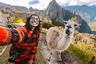 Тришите Бхаттачарье удалось сделать совместный снимок с ламой в Мачу-Пикчу. Она уверена, что именно это любопытное животное стало центральным персонажем фотографии.