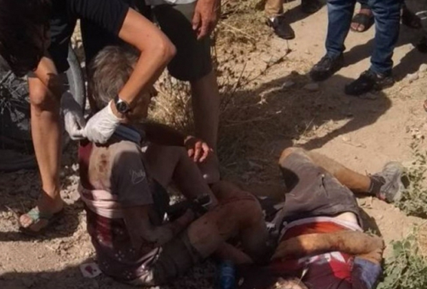 Жертвы нападения террористов в Дангаринском районе