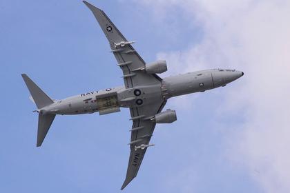 Американский самолет-разведчик полетал у российских баз в Сирии