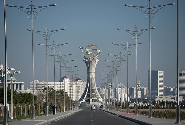 Беломраморный Ашхабад