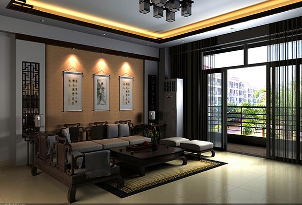 Четкие линии и симметрия — залог стабильности и упорядоченности, один из основных элементов китайского традиционного интерьера.