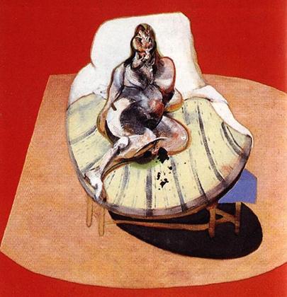 «Генриетта Мораес в красном», 1965 год