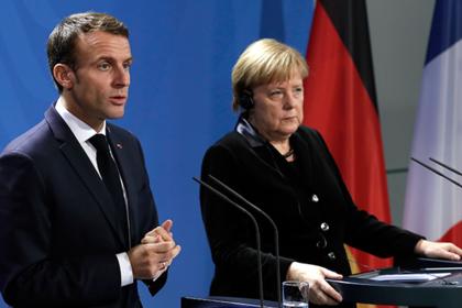 Россия ответила на требование Меркель и Макрона