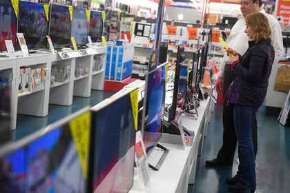 Рост налогов спровоцировал спрос на телевизоры