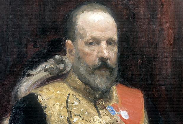 С.Ю. Витте на картине Ильи Репина «Торжественное заседание Государственного совета 7 мая 1901 года»
