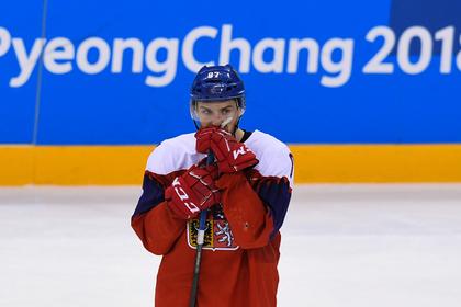 Хоккеист российского клуба выругался матом в прямом эфире