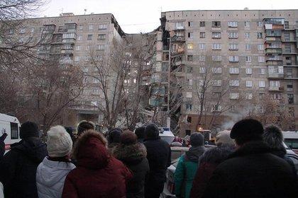 Жильцы обрушившегося дома в Магнитогорске прыгали в окна