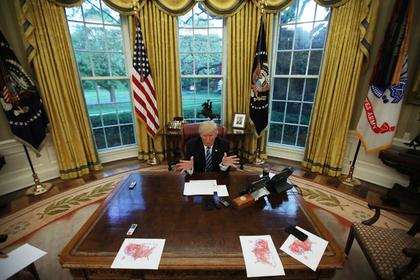 Трамп рассказал о своем героизме в Сирии