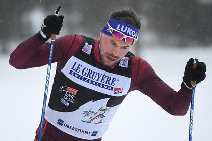 Лыжник Устюгов занял третье место в спринте на этапе «Тур де Ски»