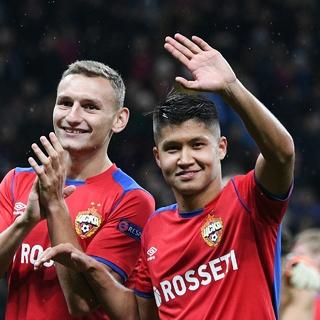 Федор Чалов (слева) и Ильзат Ахметов