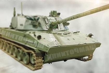 Размещено фото самого нового самоходного орудия для русских ВДВ