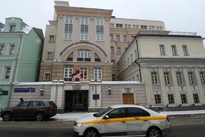 Здание НИИ НДХиТ в Москве