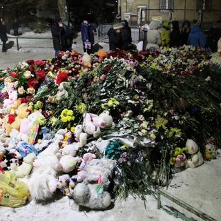 Народный мемориал недалеко от места обрушения