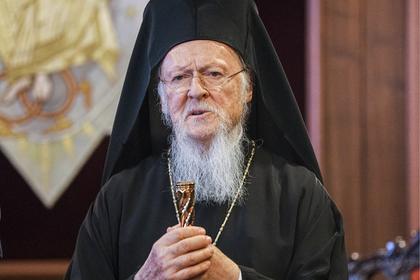 Константинопольский патриарх Варфоломей