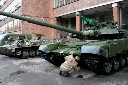 Российский танк назвали лучшим в мире