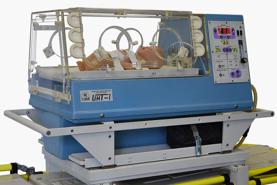 Транспортный инкубатор для новорожденных ИНТ-1 от «Роскосмоса»