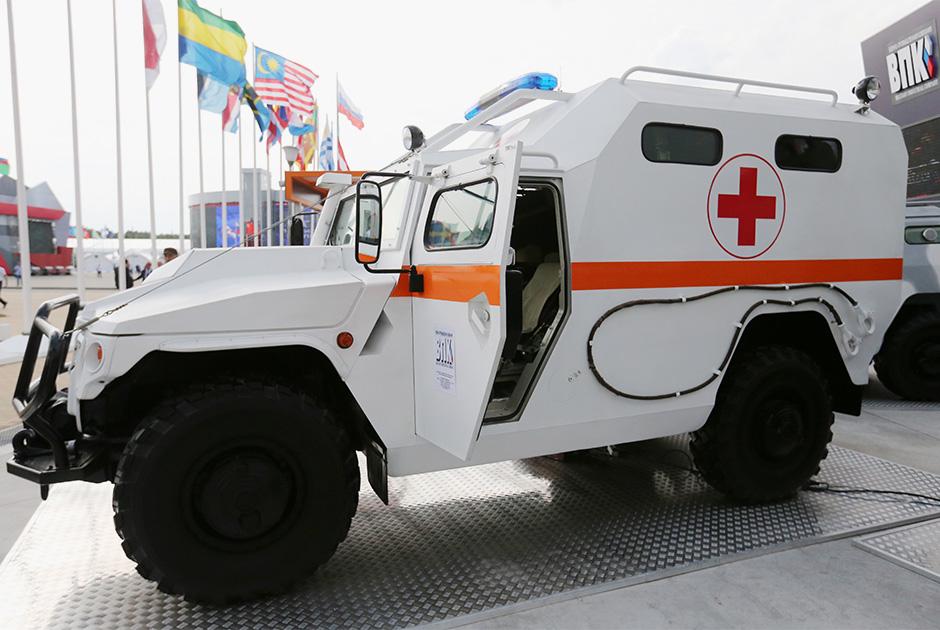Бронированный медицинский автомобиль «Тигр»