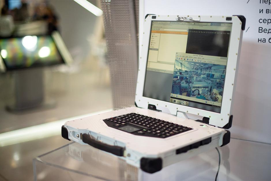 Сверхпрочный и защищенный ноутбук ЕС1866