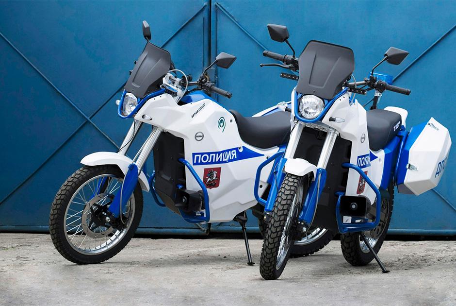 Электромотоцикл «Иж Пульсар»