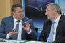 Анатолий Сердюков и Дмитрий Рогозин