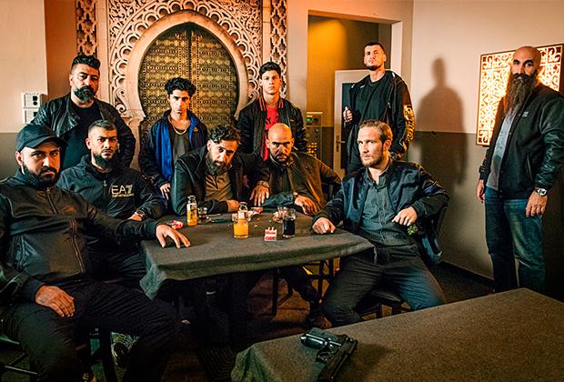 Кадр из сериала «4 блока» об арабских мафиозных кланах в Берлине