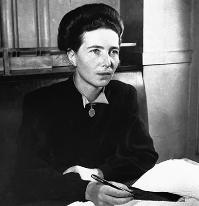 Симона де Бовуар, 1940-е годы