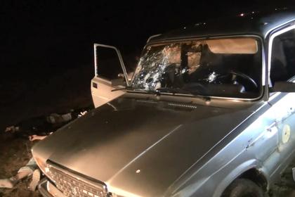 Опубликовано видео с места нападения боевиков на пост ДПС в Дагестане