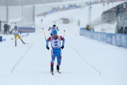 Российские биатлонисты во второй раз за день выиграли эстафету