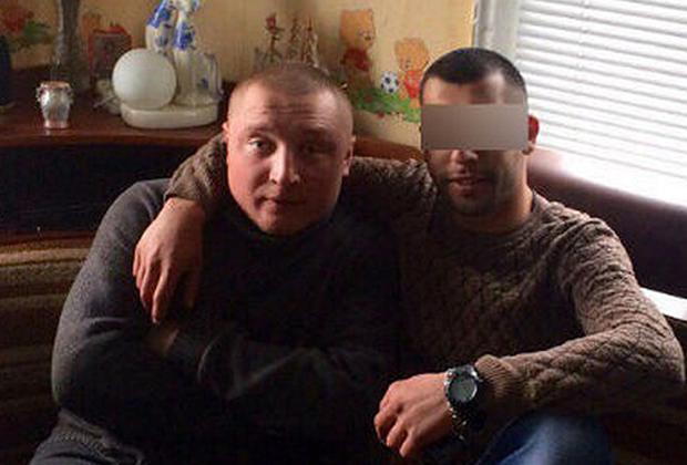 Антон Жданов (Жданчик, слева)