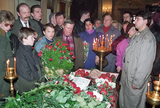 Похороны Отари Квантришвили