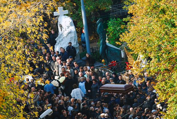 Похороны Вячеслава Иванькова (Япончик)