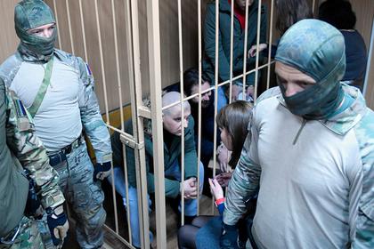 Украинские моряки отказались давать показания в российском суде