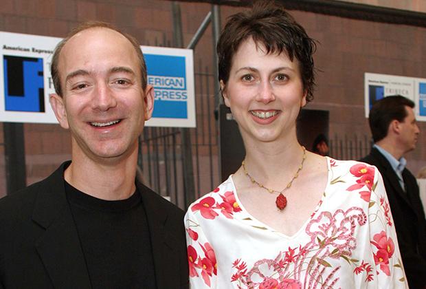 Джефф и Маккензи Безос в 2003 году