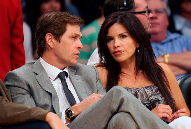 Лорен Санчес с бывшим мужем Патриком Уайтшеллом