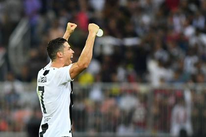 Роналду завоевал первый титул в составе «Ювентуса»