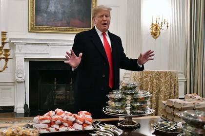 Бургерам Трампа отказали в претензии на приличный ужин