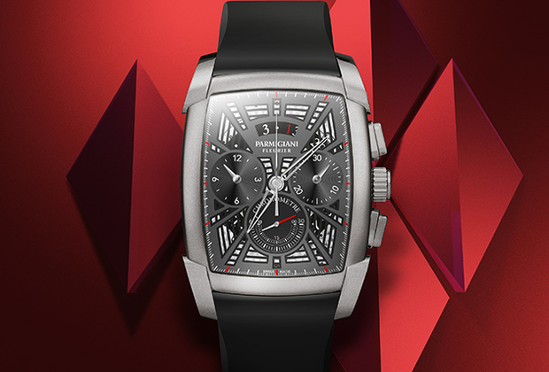 Новые часы из коллекции Kalpa, впервые запущенной в 2001 году. Модель в титановом корпусе формы tonneau («бочка») оснащена механизмом хронометра PF362 с частотой 36 000 полуколебаний в час, сертифицированным COSC.