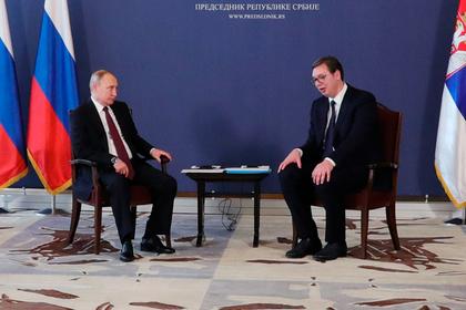 Сербия захотела газопровод в обход Украины