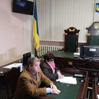 Елена Бойко на заседании суда