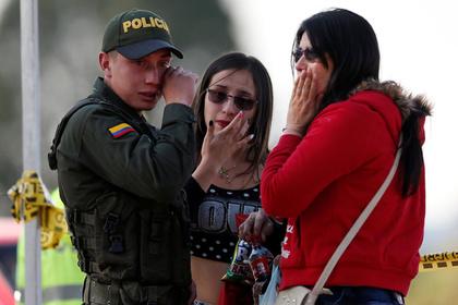 Более 80 человек пострадали при взрыве в полицейской академии в Колумбии