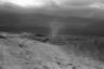 Берег Ладожского озера, откуда эвакуированные передвигались в грузовиках зимой, а в летнюю навигацию пересаживались на корабли. Сейчас о тех временах напоминает лишь атмосфера места — тут очень неспокойное озеро, его называют одним из самых бурных в России.