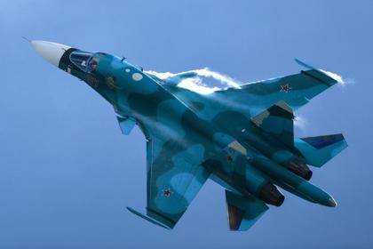 Найдено тело летчика разбившегося Су-34