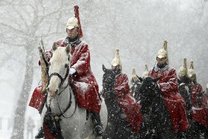 Военнослужащие Дворцовой кавалерии